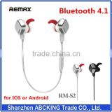 REMAX Sports Magnetic Bluetooth headset wireless headphones Bluetooth 4.1 outdoor Sports Earphones for iphone 6/5s/5 Sumsung LG
