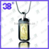 wholesale china 316L steel NBA football magnetic pendant silicone necklace zircon charms pendant
