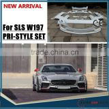 NEWEST!W197 BODY KITS FOR MB SLS W197 Pri-or design style FRP material