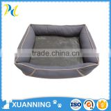 professional factory wholesale dog beanbags bed grey pet bed hot-selling small animal pets bed
