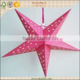 USA wholesale products 2016 baby showers centerpieces souvenir handicraft paper star lantern handmade art craft