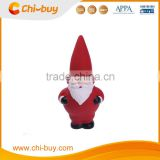 "Chi-buy Christmas Red Latex Santa Claus Dog Dog Squeaky Toy sound ,Size:2.56""L X2.17 ""W X 5.31""H,MOQ 1 pc"