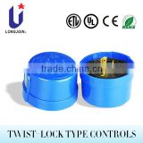 JL-203 Semi-Electronic Twist-lock Control Photo Control Photocell
