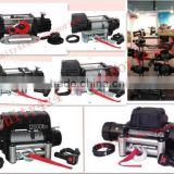 Unity Hot Customization Size New OEM Electric Winch 1000lbs with synthetic rope for toyota/jeep/mitsubishi