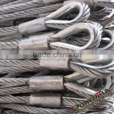 High Quality Non Twisting Flexible stainless steel wire rope sling for Sale from Manufacturer
