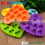 Loving Heart Shaped Chocolate Mold Food Grade Silicone Chocolate Mold Silicone Ice Trays Mould