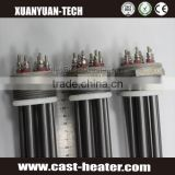 3 Phase flanged immersion heater