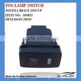 #000832 84165-26030 for toyota hiace 2014 FOG LAMP SWITCH