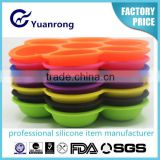 Household Freezer Silicone Mould for Ice Cube Tray with Smile Face Shape Ice Cube