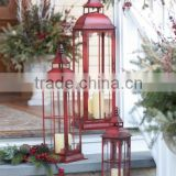 metal nautical hurricane glass large lantern/ copper metal glass lantern manufacture / cheap lantern