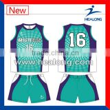Sublimation Customized High Class Sleeveless Volleyball Jerseys For Unisex