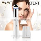 Ms.W Eye Care Hand Held Bright Eye Magic Pen Eye Bag Removal Massager Electric Vibrating Facial Lifting Device
