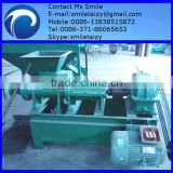 High quality and low price coal sticks machine and charcoal briquette/bar extruding machine for sale