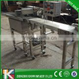wafer chocolate enrober machine/egg roll chocolate coating machine/cake pie chocolate enrobing machine