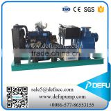 self priming oil pump with diesel engine