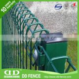 Decorative Roll Top Panel Fencing /Roll Top Fence Panels/ Rolltop Metal Fence Panel