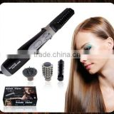 Hot air rotating hair brush,rotate styler,4 in 1 hair brush