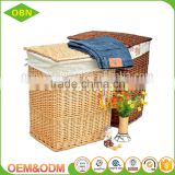 Hot sale handmade dirty laundry baskets wholesale laundry hamper