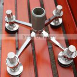 Alibaba China stainless steel glass spider fittings curtains accessories