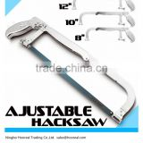 "New Chrome Hacksaw Frame w/24TPI Blades,Adjustable 8,10,12"",by Cal-Hawk,Cutting Blade Bi-Metal Hacksaw Pipe Metal Copper Rod"