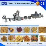 Automatic fried wheaten chips corn bugle snack food maker production plant