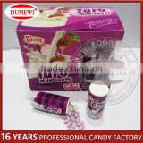 Halal Certificated Confectionery Slice Taro Bulk Candy Milk