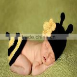 Newborn photography props/crochet baby outfit/hand made knitted pattern baby photography props