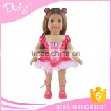 wholesale 18 inch washing cute ballet dancewear american girl baby doll clothes