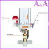 Security three heads pneumatic button attaching machine