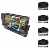 Bus truck Back up camera System