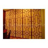 Plywood Museum Folding Sound Dampening Panels , Sound Proof Partition Walls For Exhibition