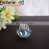Wedding Mini Tiara Rhinestone Hair Comb Clip