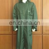 china wholesaler 190t polyester taffeta long raincoat for airline