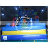 2017 Aier guangzhou easy set up inflatable slide/inflatable slide for promotional activities