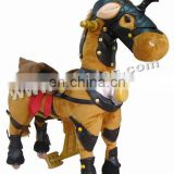 Horse walking plush animal none electric animal car
