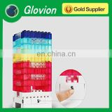 Glovion 3-level dimmable touch switch LED lamp decorative night light DIY toy bricks light