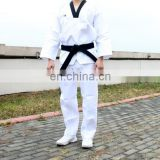 wholesale Taekwondo Uniforms - White Super Light Material Martial Arts Taekwondo Uniform/custom made