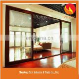 High Fashion Aluminium Frame Glass Door/Bifold Sliding Tempered Glass Window and Door/Frameless Glass Entrance Door Price