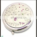 High quality loverly fashion compact mirror, metal compact mirror