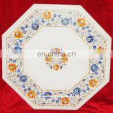 Marble Inlay Table Tops, Inlay Marble Pietra Dura Coffee Table Tops