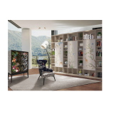 3D Digital High Gloss UV bookshelf