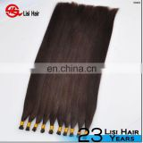 Wholesale Price Pre-Bonded Hair Extension I/U/V/Flat/Nail tip Extensions, 1 g/ strand