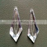 Clear Color Sword Acrylic Pendant For Chandelier Parts