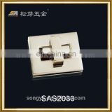 Classic And Durable Zinc Alloy Metal Hardware For Briefcase, High Quality Mens Briefcase Metal Lock Hardware
