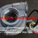 4956081 CUMMINS TURBO CHARGER TEREX TR45 TR50 TR60 TR100 MINING DUMP TRUCK OFF HIGHWAY
