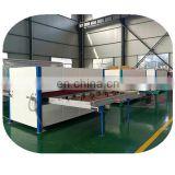 wood finish machine for whole set steel door decoration
