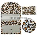 Leopard pouch for makeup/makeup case/eyeshadow palette package