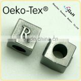 Zinc Alloy Square Cord End and Rope Stopper