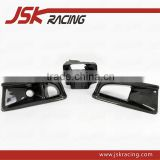 FOR EVO 8 AIR DUCT VA STYLE CARBON FIBER OIL CLEAN GUIDE & AIR DUCT (3PCS) FOR MITSUBISHI LANCER EVOLUTION 8 (JSK200504)
