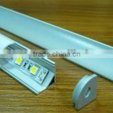 Aluminum profiles for led strip,super slim 7mm recessed aluminum LED profile with flange